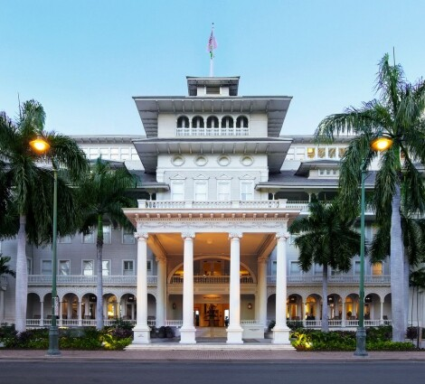 Moana Surfrider - A westin Resort & Spa