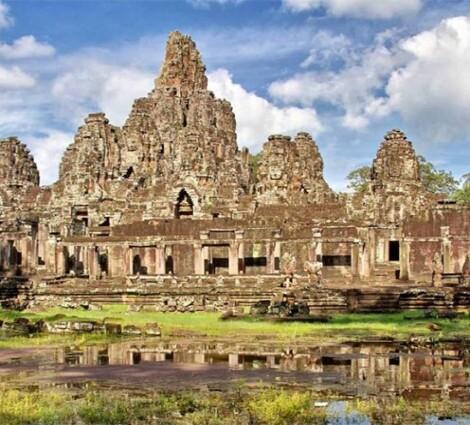 Angkor Wat - Kambodzsa híres templomegyüttese